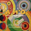 天才パーカッション奏者コリン・カリーの委嘱作品も収録! カレヴィ・アホの協奏曲《シエイディ》と交響曲第5番