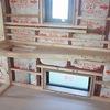 倉敷市 鉄骨造の家 大空間の邸宅 内部造作状況