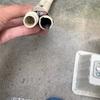 虫対策に、エアコンのドレンホースにキャップを取り付けてみました
