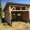 農作業小屋が完成しました。