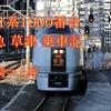 【乗車記】白いタキシードボディは健在!651系 臨時特急 草津 84号 乗車記(高崎駅⇒上野駅)