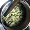 安納芋とアイスコーヒー