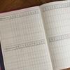<手帳選び>比較してみた。逆算、未来手帳、CITTA、幸せおとりよせ④ガントチャート