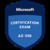 AZ-300 Microsoft Azure Architect Technologies に合格しました