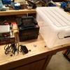 バッテリーボックスを簡単に作ってみた。