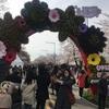 人混み必至!子連れでヨイドの桜祭りに行ってみた!