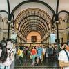 【ホーチミン旅行】ホーチミン1区の観光名所『サイゴン中央郵便局』