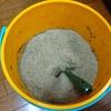 竹粉コンポストを始めて1ヶ月!熟成期間に突入&麻袋コンポストに挑戦!