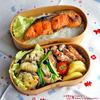 #342 塩鮭と野菜のおかずたっぷり弁当