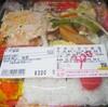 「デリカ魚鉄」(JA マーケット)の「チキンカツ弁当(小)」 350−50円