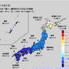 1か月予報では来週・再来週が寒さのピークか!?来週は数年に1度レベルの寒気が入り、普段積もらない鹿児島や広島でも積雪になるかも!?