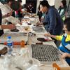西安大唐西市博物館(その59:拓本体験イベント)+「牛肉泡馍(ニュウロー パオモー)」・「小炒泡馍(シャオチャオ パオモー)」