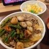 Wニンニク牛丼