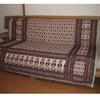 機織りで作られたマルチカバー ソファやベッドカバーに