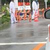 神奈川小田原市米神国道135号で土砂崩れ、通行止め