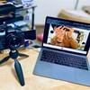 OM-D Webcam Beta で Meet 飲み会