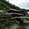 京都北区の岩戸落葉神社と木造倉庫群