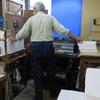 往復封筒を作っている杉山紙工所さんへ行ってきました