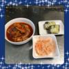 ★料理動画つき★夕飯【ローテーション献立9】鶏もも肉のトマト煮・なます・こんにゃくの味噌チーズ焼き