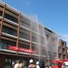 一宮医療療育センターにて「平成29年秋季火災予防運動消防訓練」実施