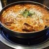 ソウルで、海鮮チーズトッポギ鍋を、激安で堪能しました!