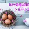 【不妊治療】3回目の体外受精・ショート法での誘発開始から採卵前日まで