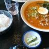 京成八幡【味将】宮崎辛ら~麺セット ¥900