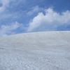 雪原を行くわたし。