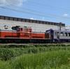 第577列車 「 網干出場のキハ120-16、亀山配給を狙う 」
