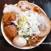 暁天 肉カレーラー麺 お肉がドドドーン!ぴりりカレースープが美味
