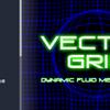 【Unity】自由自在に伸び縮みするネオングリッドを使用できる「Vector Grid」紹介($16.20)