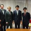 柴橋岐阜市長への公式訪問
