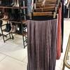ベロアプリーツスカート。その1