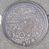 福井県勝山市のマンホール
