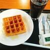 【タリーズコーヒー】モーニングワッフル