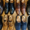 Rainy day 靴磨きday 選挙day