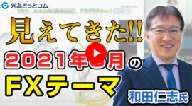 【FXセミナー】見えてきた!2021年3月のFXテーマ「和田仁志氏」 2021/3/2