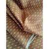 着物生地(347)抽象模様織り出し手織り真綿紬