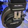 ライブな環境でのモニター・レコーディング・編集に最適な ヘッドホン 「 ローランド RH-300 」