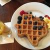 オースティンで食べたテキサス型朝食ワッフル