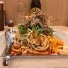 【今週のラーメン3796】 175°DENO担担麺 TOKYO (東京・新宿) 冷し汁なし担担麺 + Premium YEBISU 小瓶 〜まさに味のピラミッド!美しさと旨さ!痺れと辛さ!ハイセンスに食いたい崇高冷やし担担麺!