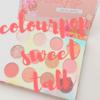 """【colourpop】カラポ春コレ♡アイシャドウパレット""""sweet talk""""【カラーポップ】"""