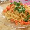 簡単!!トマトとバジルの冷製パスタの作り方/レシピ