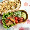 #662 豚肉と南瓜のジンジャーソテー弁当