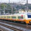 2月26日撮影 東海道線 大磯~二宮間 東海道線を行くE653系 いなほ編成