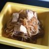 糸こんにゃくと鶏むね肉の煮物(ビッグA)