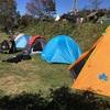 陣馬形山キャンプツーリング