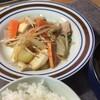 野菜炒めとお弁当