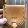 ヌメ革を育てる:BREE(ブリ―)のコインケースを6か月目。ちょっとしたトラブルが・・・。