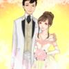 結婚写真ならぬ結婚似顔絵!?